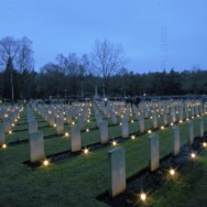 Christmas Eve in Holten Canadian War Cemetery