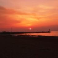Courseulles sur Mer Sunset 2008