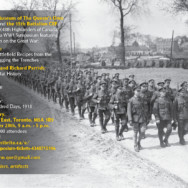 WW1 Symposium – Toronto – 28 September